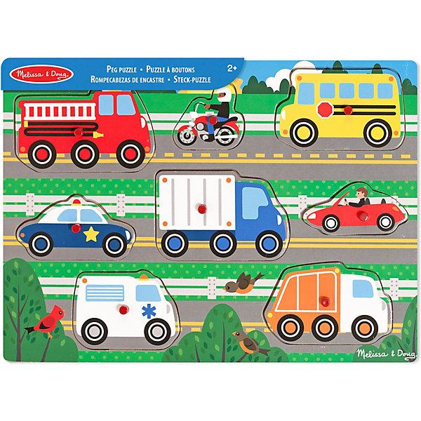 """Фотография товара рамка-вкладыш Melissa & Doug """"Транспорт"""" (7416040)"""
