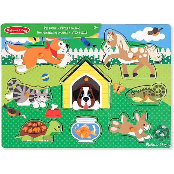 """Фотография товара рамка-вкладыш Melissa & Doug """"Домашние животные"""" (7416041)"""