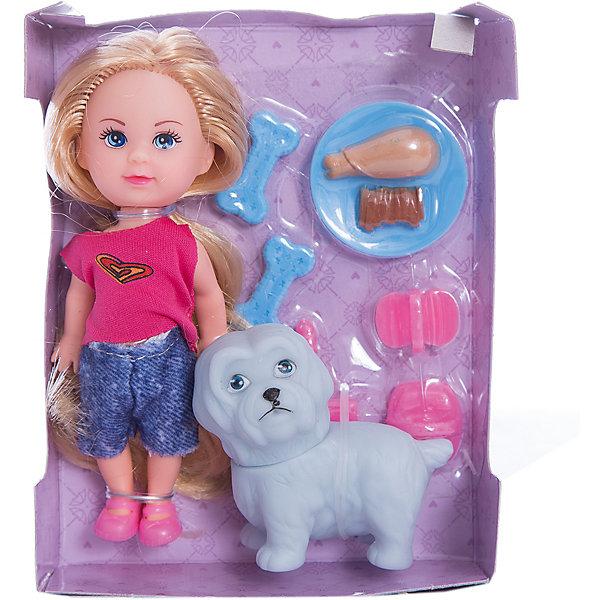 Кукла Мегги Mary Poppins, 9см с питомцем.Мини-куклы<br>Характеристики:<br><br>• возраст: от 3 лет<br>• в комплекте: кукла, домашний питомец - собачка, тарелка для питомца, любимые лакомства питомца, расческа<br>• высота куклы: 9 см.<br>• материал: пластик, текстиль<br>• упаковка: картонная коробка блистерного типа<br><br>Кукла Мэгги от торгового бренда Mary Poppins представляет собой милую малышку с длинными светлыми волосами, которые можно расчесывать и укладывать в разнообразные прически. В комплекте с куклой имеется питомец - собачка белого цвета и различные аксессуары, которые позволят разнообразить игру.<br><br>Кукла изготовлена из качественного пластика. Ее можно взять с собой в дорогу - кукла не займет много места и не даст скучать в пути.<br><br>Куклу Мегги Mary Poppins, 9см с питомцем можно купить в нашем интернет-магазине.<br>Ширина мм: 100; Глубина мм: 30; Высота мм: 130; Вес г: 90; Возраст от месяцев: 36; Возраст до месяцев: 2147483647; Пол: Женский; Возраст: Детский; SKU: 7417194;