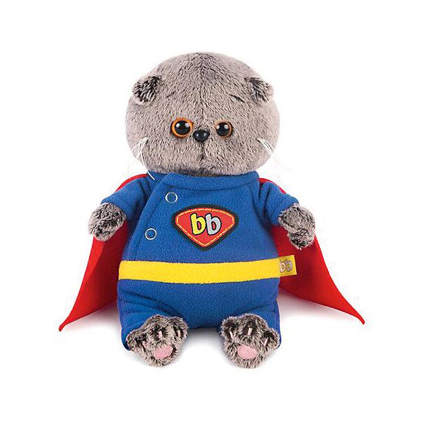 Budi Basa Мягкая игрушка Кот Басик Baby в костюме супермена, 20см