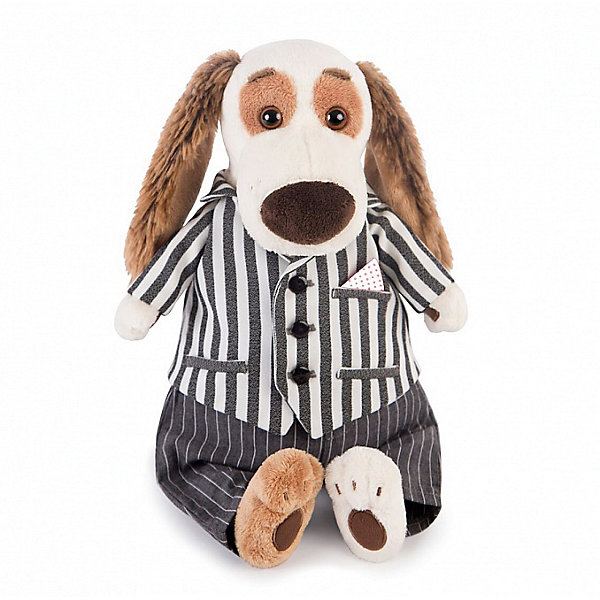 Budi Basa Мягкая игрушка Собака Бартоломей в костюме, 27 см