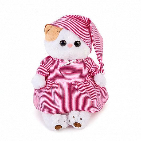 Budi Basa Мягкая игрушка Budi Basa Кошечка Ли-Ли в розовой пижамке, 24 см budi basa мягкая игрушка budi basa кошечка ли ли в зеленом свитере 24 см