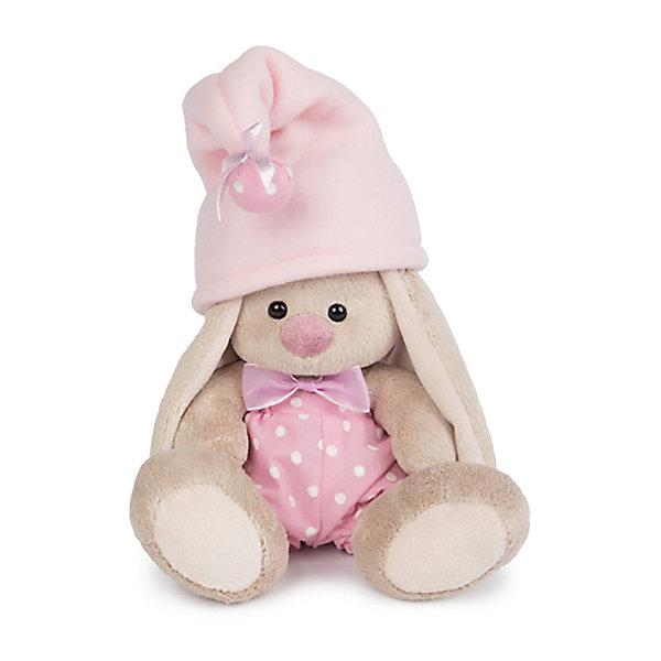 Зайка Ми - гномик в розовом(малыш)Мягкие игрушки зайцы и кролики<br>Характеристики товара:<br><br>• возраст: от 3 лет;<br>• материал: текстиль, искусственный мех;<br>• высота игрушки: 15 см;<br>• размер упаковки: 13,5х13х13 см;<br>• вес упаковки: 210 гр.;<br>• страна производитель: Россия.<br><br>Мягкая игрушка «Зайка Ми гномик в розовом» Budi Basa — очаровательный пушистый зайчонок с длинными ушками. На зайке одеты розовые панталончики в клетку, шапочка из флиса с помпоном, а на шее повязана ленточка. Игрушка выполнена из качественного безопасного материала, настолько приятного и мягкого, что ребенок будет брать с собой зайку в кроватку и спать в обнимку.<br><br>Мягкую игрушку «Зайка Ми гномик в розовом» Budi Basa можно приобрести в нашем интернет-магазине.<br>Ширина мм: 135; Глубина мм: 135; Высота мм: 130; Вес г: 210; Возраст от месяцев: 36; Возраст до месяцев: 2147483647; Пол: Унисекс; Возраст: Детский; SKU: 7417254;