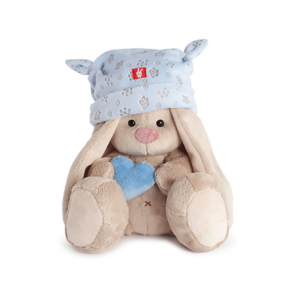 Мягкая игрушка Budi Basa Зайка Ми в голубой шапке с сердечком, 15 смМягкие игрушки зайцы и кролики<br>Характеристики товара:<br><br>• возраст: от 3 лет;<br>• материал: текстиль, искусственный мех;<br>• высота игрушки: 15 см;<br>• размер упаковки: 13,5х13х13 см;<br>• вес упаковки: 210 гр.;<br>• страна производитель: Россия.<br><br>Мягкая игрушка «Зайка Ми в голубой шапке с сердечком» Budi Basa — очаровательный пушистый зайчонок с длинными ушками. На зайке голубая шапочка с забавными ушками, а в лапках она держит сердечко. Игрушка выполнена из качественного безопасного материала, настолько приятного и мягкого, что ребенок будет брать с собой зайку в кроватку и спать в обнимку.<br><br>Мягкую игрушку «Зайка Ми в голубой шапке с сердечком» Budi Basa можно приобрести в нашем интернет-магазине.<br>Ширина мм: 135; Глубина мм: 135; Высота мм: 130; Вес г: 210; Возраст от месяцев: 36; Возраст до месяцев: 2147483647; Пол: Унисекс; Возраст: Детский; SKU: 7417255;