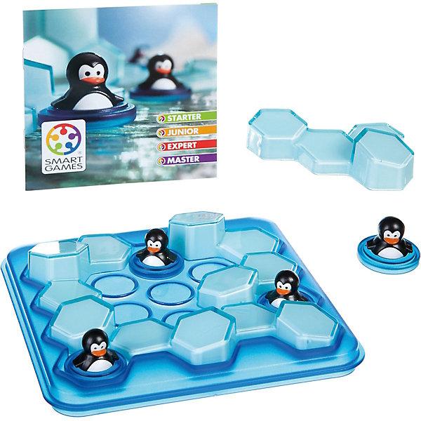 Игра-головоломка Мини пингвины BondibonГоловоломки - игры<br>Характеристики:<br><br>• возраст: от 6 лет;<br>• материал: пластик;<br>• количество игроков: 1;<br>• в наборе: игровое поле, цветные детали, инструкция с 60 заданиями;<br>• вес: 458 гр.;<br>• размер упаковки: 4,5х17х24 см.<br><br>«Мини пингвины» от Bondibon — увлекательная 3D головоломка, в которой нужно поместить пингвинчиков на игровое поле в соответствии с заданием, а после их нужно окружить льдинами.<br><br>Условия различаются по уровню сложности. Тот, кто выполнит все 60 задач получит бесценный опыт для развития логического мышления и внимательности. Набор легко взять собой в дорогу взамен игровым приложениям на планшете или телефоне.<br><br>Игру-головоломку «Мини пингвины» Bondibon можно купить в нашем интернет-магазине.<br>Ширина мм: 45; Глубина мм: 240; Высота мм: 170; Вес г: 458; Возраст от месяцев: 72; Возраст до месяцев: 2147483647; Пол: Унисекс; Возраст: Детский; SKU: 7419993;