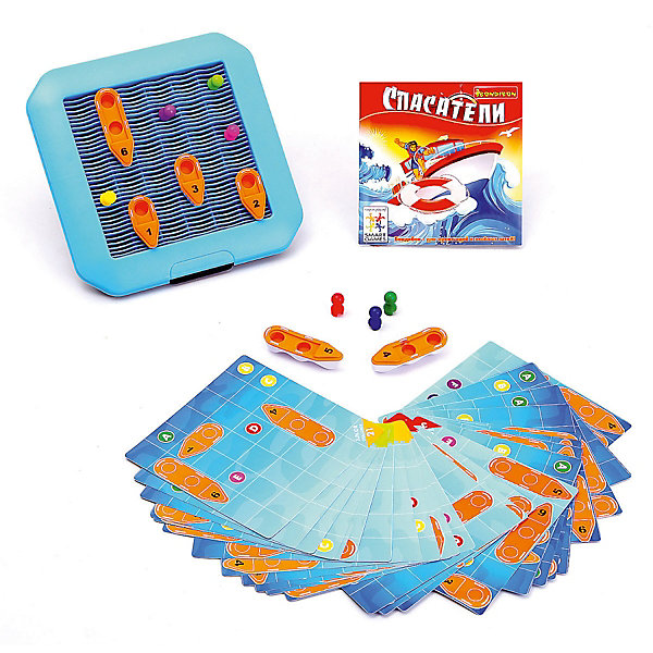 Bondibon Игра-головоломка Спасатели Bondibon игра головоломка recent toys cubi gami