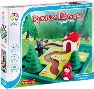 Игра-головоломка  Красная шапочка и серый волк  Bondibon, артикул:7420000 - Головоломки
