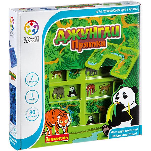 Bondibon Игра-головоломка Джунгли. Прятки
