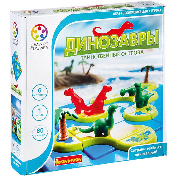 Bondibon Игра-головоломка Динозавры. Таинственные острова