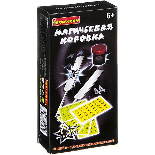 Bondibon Фокусы Магическаякоробка №1(15фокусов), Bondibon набор фокусника маленький маг для демонстрации 200 фокусов mlm1702 003