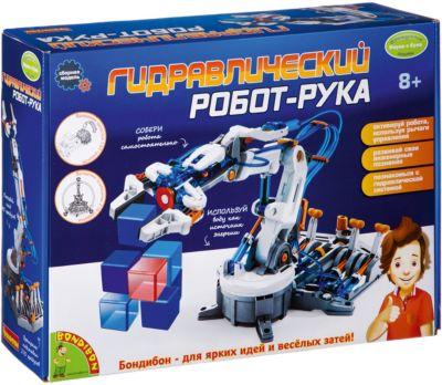 Французские опыты Науки с Буки Гидравлический робот-рука Bondibon, артикул:7420058 - Робототехника и электроника