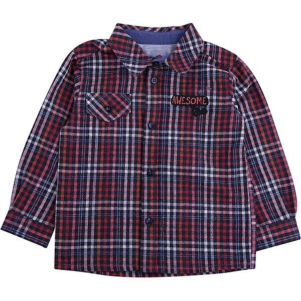 Рубашка Wojcik для мальчикаБлузки и рубашки<br>Характеристики товара:<br><br>• цвет: серый<br>• состав ткани: 100% хлопок<br>• сезон: демисезон<br>• длинные рукава<br>• застежка: пуговицы<br>• страна бренда: Польша<br>• страна изготовитель: Польша<br><br>Клетчатая рубашка с длинным рукавом для мальчика Войчик легко надевается благодаря пуговицам. Хлопковая рубашка для детей сделана из легкого дышащего материала. Бренд Wojcik - это польская детская одежда отличного качества по доступной цене. <br><br>Рубашку Wojcik (Войчик) для мальчика можно купить в нашем интернет-магазине.<br>Ширина мм: 174; Глубина мм: 10; Высота мм: 169; Вес г: 157; Цвет: белый; Возраст от месяцев: 6; Возраст до месяцев: 9; Пол: Мужской; Возраст: Детский; Размер: 74,80; SKU: 7421580;