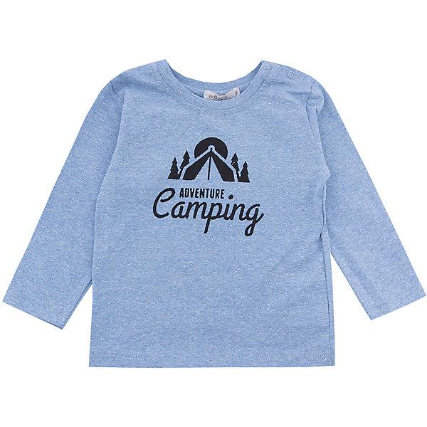 Wojcik Футболка с длинным рукавом Wojcik для мальчика сандалии для мальчика bottilini цвет синий голубой so 096 8 размер 21 22 5