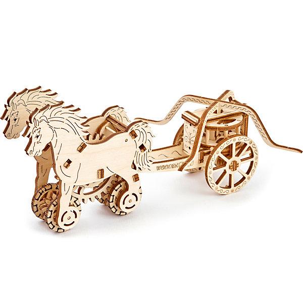 Wooden City Сборная модель Колесница Да Винчи