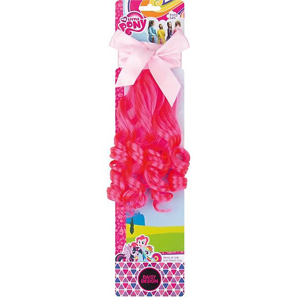 Daisy Design Аксессуар для девочек Хвост Пони. Пинки Пай My Little Pony набор аксессуаров для волос daisy design sweet hearts бантик