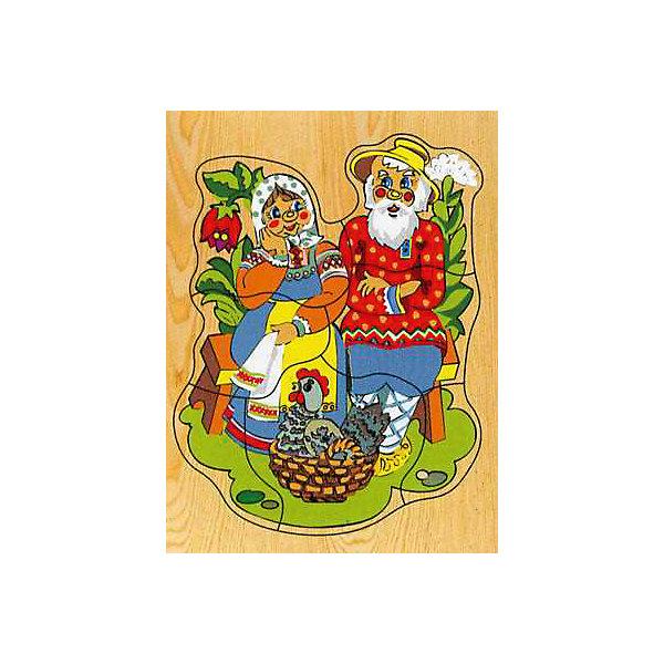 "Фотография товара рамка-пазл ""Курочка Ряба""  Чудо-Дерево (7424875)"
