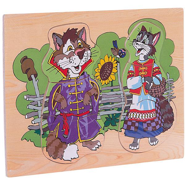 Чудо-Дерево Рамка-пазл Кот и кошка