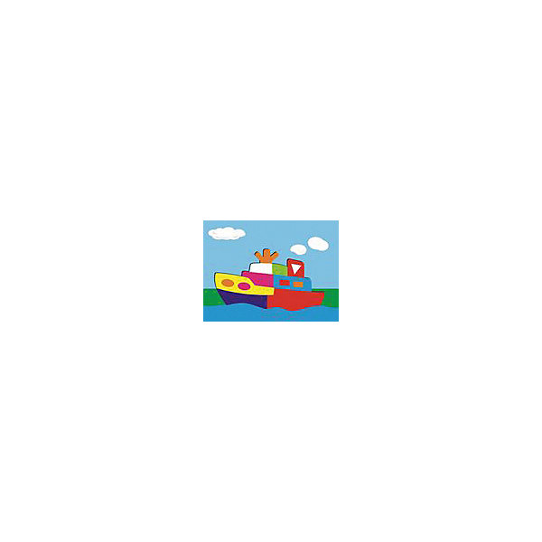 "Фотография товара рамка-пазл ""Кораблик""  Чудо-Дерево (7424899)"