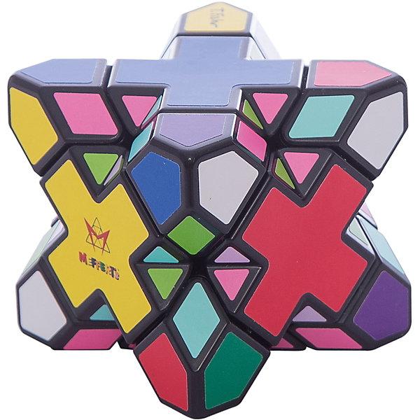 Головоломка Скьюб ЭкстримГоловоломки Кубик Рубика<br>Характеристики товара:<br><br>• размер головоломки: 5,7х5,7х5,7 см;<br>• возраст: от 9 лет;<br>• количество цветов: 10;<br>• количество граней: 30;<br>• материал: пластик;<br>• размер упаковки: 19,5х19х9 см;<br>• страна бренда: Германия.<br><br>Головоломка Скьюб Экстрим состоит из 30 граней с десятью разными цветами. Цель игры - расставить узоры так, чтобы каждая грань имела одинаковый цвет. Металлические шарики, используемые при повороте, надежно защелкивают Скьюб Экстрим в выбранном положении. На поверхность головоломки нанесены качественные виниловые наклейки, отличающиеся высоким качеством. Сложность данной головоломки - средняя. <br><br>Головоломку Скьюб Экстрим, Mefferts (Мефферта) можно купить в нашем интернет-магазине.