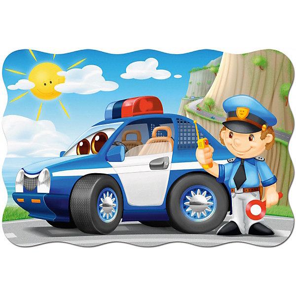 Castorland Пазл Полицейский патруль, 20 деталей MAXI Castorland castorland пазл 500 деталей река в джунглях c500 52141