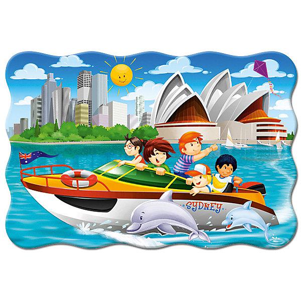 Castorland Пазл Яхта в Сиднее, 20 деталей MAXI Castorland яхта