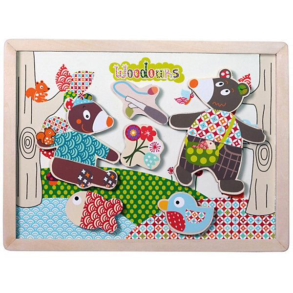 Магнитная доска История Мишки EbuloboОбучающие игры для дошкольников<br>Характеристики:<br><br>• возраст: от 1,5 лет;<br>• материал: дерево;<br>• в наборе: магнитная доска, элементы пазла;<br>• вес: 660 гр.;<br>• размер упаковки: 32х27,5х31 см;<br>• страна бренда: Франция.<br><br>«История Мишки» Ebulobo — набор из магнитной доски и разных элементов, собрав которые получится картина жизни семейства медвежат. Все детали легко крепятся к доске, создавая разные сюжеты.<br><br>Готовую картинку на доске можно использовать как украшение интерьера. Набор развивает творческие способности ребенка и совершенно безопасен для его здоровья.<br><br>Магнитную доску «История Мишки» Ebulobo можно купить в нашем интернет-магазине.<br>Ширина мм: 320; Глубина мм: 275; Высота мм: 310; Вес г: 660; Возраст от месяцев: 18; Возраст до месяцев: 36; Пол: Унисекс; Возраст: Детский; SKU: 7428430;