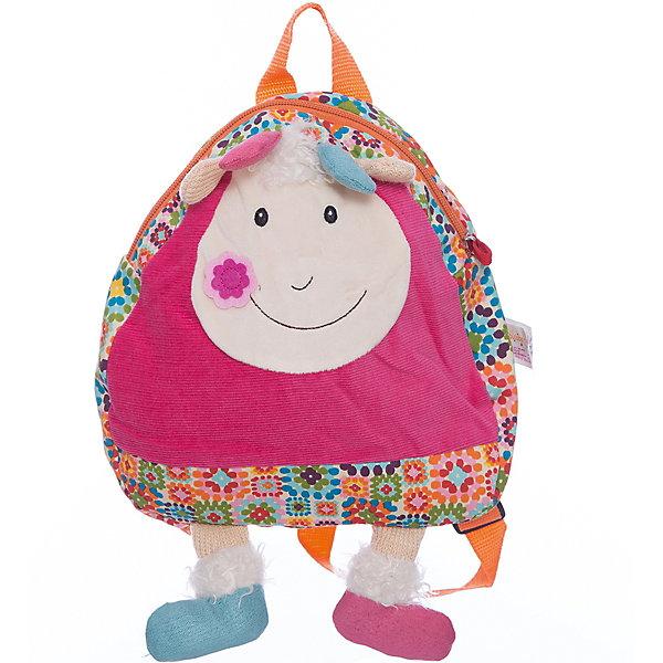 Рюкзачок Козочка Жужу EbuloboДетские рюкзаки<br>Характеристики:<br><br>• возраст: от 1 года;<br>• материал: хлопок, полиэстер;<br>• регулируемые лямки;<br>• ручка для переноски;<br>• вес: 150 гр.;<br>• размер: 56х30х28 см;<br>• страна бренда: Франция.<br><br>В рюкзачке «Козочка Жужу» Ebulobo поместится все, что необходимо малышу на прогулке, в гостях или в детском саду. Очаровательный мягкий рюкзак удобно ляжет на плечики ребенка благодаря регулируемым по росту лямкам.<br><br>Яркий дизайн с 3D элементами делает рюкзак еще и игрушкой. Изделие можно стирать. Все швы прошиты качественно, материал прочный, а значит рюкзачок долго будет радовать своего обладателя.<br><br>Рюкзачок «Козочка Жужу» Ebulobo можно купить в нашем интернет-магазине.<br>Ширина мм: 560; Глубина мм: 300; Высота мм: 280; Вес г: 150; Возраст от месяцев: 12; Возраст до месяцев: 60; Пол: Унисекс; Возраст: Детский; SKU: 7428438;