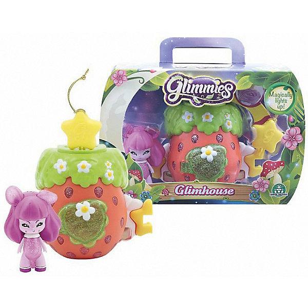 Домик Глимхаус Glimmies с SiestinaНаборы с куклой<br>Характеристики товара:<br><br>• возраст: от 3 лет;<br>• материал: пластик;<br>• в комплекте: кукла, домик;<br>• тип батареек: 3 батарейки V384;<br>• наличие батареек: в комплекте;<br>• высота куклы: 6 см;<br>• размер упаковки: 20х14х8 см;<br>• вес упаковки: 217 гр.;<br>• страна изготовитель: Китай.<br><br>Домик Глимхаус Glimmies с Siestina — разноцветный домик, в котором живет очаровательная фея Glimmies. Куклы Glimmies — забавные лесные существа, которые обладают магическими силами. Куколка светится в темноте. При недостатке освещения, она загорается автоматически. <br><br>Если поместить фею в домик и оставить на ночь, то получится настоящий ночник для ребенка. Чтобы поместить игрушку внутрь, в домике предусмотрена открывающаяся дверца с окошком. Кроме этого, по бокам домика имеются крепления, позволяющие собрать сразу несколько домиков в оригинальную светящуюся гирлянду. Игрушка выполнена из качественного безопасного пластика.<br><br>Домик Глимхаус Glimmies с Siestina можно приобрести в нашем интернет-магазине.<br>Ширина мм: 250; Глубина мм: 200; Высота мм: 540; Вес г: 166; Возраст от месяцев: 36; Возраст до месяцев: 2147483647; Пол: Женский; Возраст: Детский; SKU: 7428762;