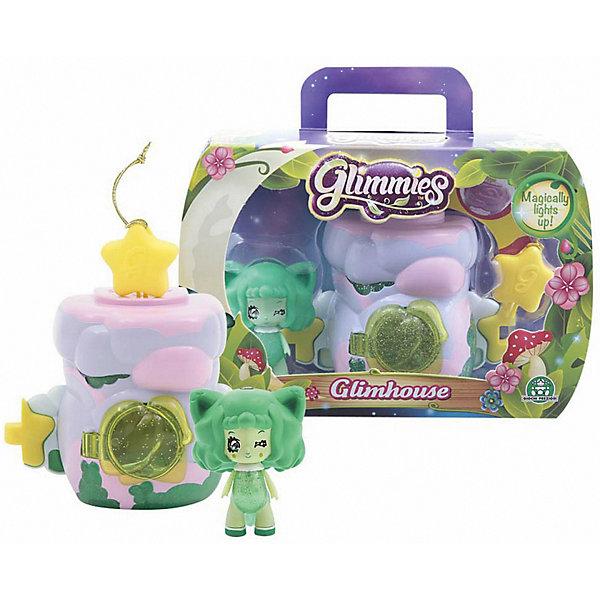 Домик Глимхаус Glimmies с VolpessaМини-куклы<br>Характеристики товара:<br><br>• возраст: от 3 лет;<br>• материал: пластик;<br>• в комплекте: кукла, домик;<br>• тип батареек: 3 батарейки V384;<br>• наличие батареек: в комплекте;<br>• высота куклы: 6 см;<br>• размер упаковки: 20х14х8 см;<br>• вес упаковки: 217 гр.;<br>• страна изготовитель: Китай.<br><br>Домик Глимхаус Glimmies с Volpessa — разноцветный домик, в котором живет очаровательная фея Glimmies. Куклы Glimmies — забавные лесные существа, которые обладают магическими силами. Куколка светится в темноте. При недостатке освещения, она загорается автоматически. <br><br>Если поместить фею в домик и оставить на ночь, то получится настоящий ночник для ребенка. Чтобы поместить игрушку внутрь, в домике предусмотрена открывающаяся дверца с окошком. Кроме этого, по бокам домика имеются крепления, позволяющие собрать сразу несколько домиков в оригинальную светящуюся гирлянду. Игрушка выполнена из качественного безопасного пластика.<br><br>Домик Глимхаус Glimmies с Volpessa можно приобрести в нашем интернет-магазине.<br>Ширина мм: 340; Глубина мм: 500; Высота мм: 400; Вес г: 166; Возраст от месяцев: 36; Возраст до месяцев: 2147483647; Пол: Женский; Возраст: Детский; SKU: 7428763;