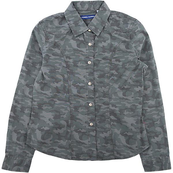 Original Marines Рубашка Original Marines для девочки рубашка million x для девочки цвет бежевый