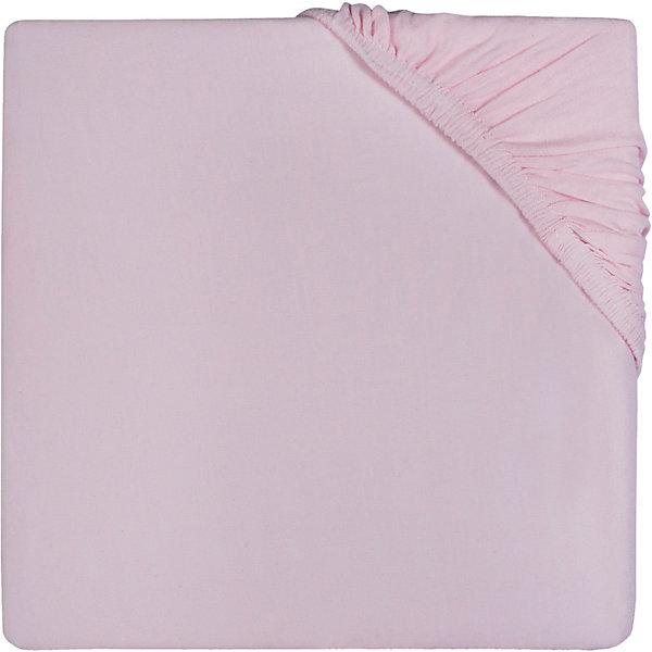jollein Простыня на резинке Jollein 60х120 см, Vintage pink (Винтажно-) простыня на резинке ирис размер 60х120 см