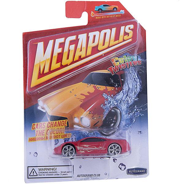 Машинка Autotime, Color Twisters Water Chameleon, металлическая, красныйМашинки<br>Характеристики:<br><br>• возраст: от 3 лет;<br>• цвет игрушки: красный;<br>• особенности: машинка меняет цвет в воде;<br>• материал: пластик, металл;<br>• размер: 12,7х17,8х4 см;<br>• тип упаковки: блистер на картоне;<br>• бренд, страна бренда: Autotime, США;<br>• страна производитель: Китай.<br><br>Машинка от бренда Autotime «Color Twisters Water Chameleon» - это красивая игрушечная модель спортивной машины, которая входит в серию товаров под названием Color Twisters. <br><br>Интересной особенностью данного автомобиля является возможность менять цвет. Если опустить машинку в горячую воду, то расцветка изменится, а если затем опустить в холодную, то цвет станет прежним. Машина изготовлена из литого металла и пластмассы.<br><br>Машинка сделана из безопасных материалов. Так же красители, которыми окрашены все части автомобиля являются гипоаллергенными и не навредят здоровью ребенка. Игрушка прошла все необходимые проверки и получила все сертификаты качества.<br><br>Color Twisters Water Chameleon действительно уникальная игрушка которая подарит вашему ребенку много радости и приятное времяпрепровождение за игрой. Отличный вариант для пополнения коллекции игрушечных машинок вашего ребенка.<br><br>Машинку от бренда Autotime «Color Twisters Water Chameleon», цвет - красный, можно купить в нашем интернет-магазине.<br>Ширина мм: 127; Глубина мм: 178; Высота мм: 39; Вес г: 63; Возраст от месяцев: 36; Возраст до месяцев: 2147483647; Пол: Мужской; Возраст: Детский; SKU: 7431656;