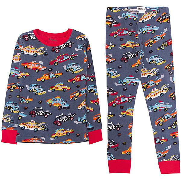 Пижама Hatley для мальчикаПижамы и сорочки<br>Характеристики товара:<br><br>• цвет: серый<br>• комплектация: лонгслив, брюки<br>• состав ткани: 100% хлопок<br>• сезон: круглый год<br>• пояс: резинка<br>• длинные рукава<br>• страна бренда: Канада<br>• страна изготовитель: Индия<br><br>Канадский бренд Hatley - это одежда со стильным дизайном и высоким качеством исполнения. Эта детская пижама обеспечит ребенку комфорт во время сна. Пижама для ребенка сделана из мягкого и дышащего хлопка. Детская пижама комфортно сидит, не вызывает неудобств. <br><br>Пижаму Hatley (Хатли) для мальчика можно купить в нашем интернет-магазине.<br>Ширина мм: 281; Глубина мм: 70; Высота мм: 188; Вес г: 295; Цвет: серый; Возраст от месяцев: 18; Возраст до месяцев: 24; Пол: Мужской; Возраст: Детский; Размер: 104,98,92,122,116,110; SKU: 7434645;