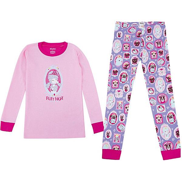 Hatley Пижама Hatley для девочки детские пижамы футужама детская пижама кигуруми стич 4 6 лет