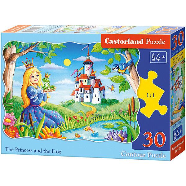 Castorland Пазл Принцесса и лягушка, 30 деталей (MIDI)Castor land beleduc развивающий пазл яблоко 30 деталей
