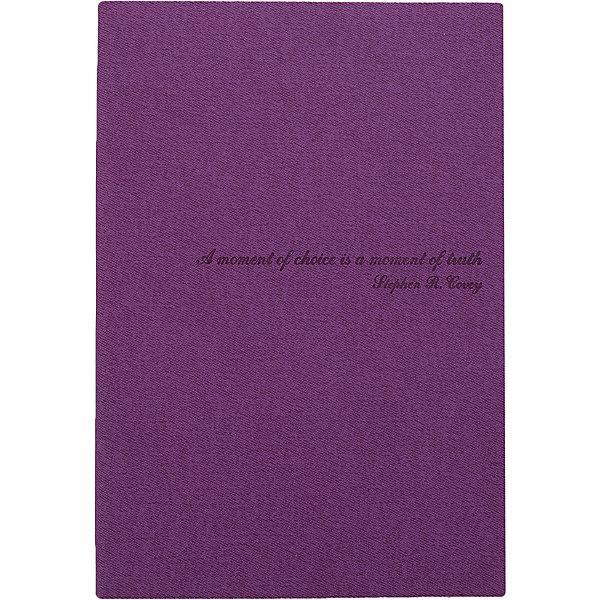 Феникс+ Ежедневник Fenix Plus Джинс недатированный (фиолетовый)