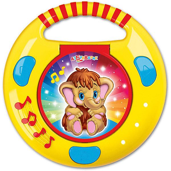 Азбукварик CD- с огоньками Азбукварик Песенки и сказки