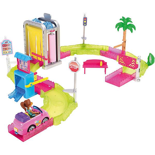 Mattel Набор с куклой Barbie В движении Мойка машины