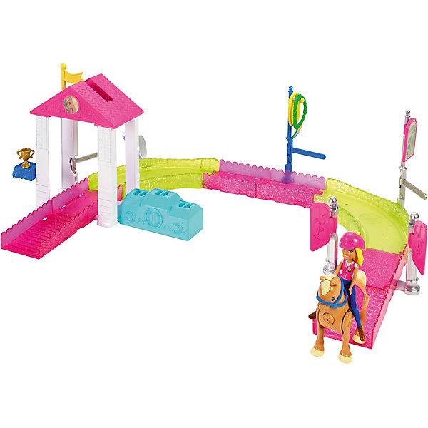 Mattel Игровой набор Barbie в движении «Скачки» barbie игровой набор космический замок dpb51
