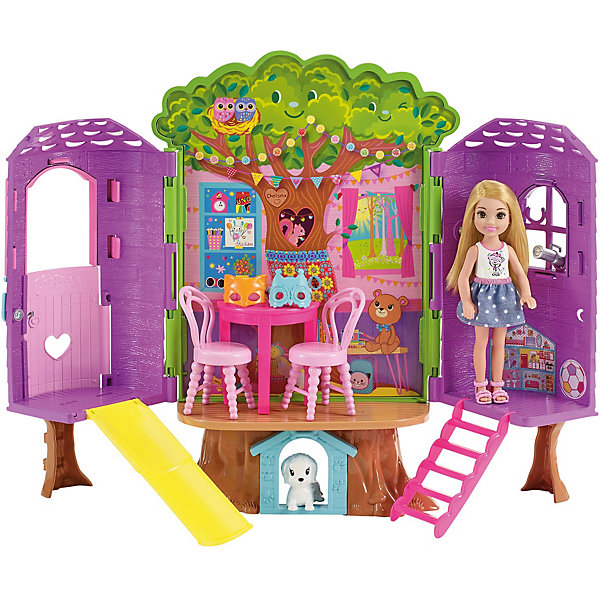 Mattel Игровой набор Barbie «Домик на дереве Челси»
