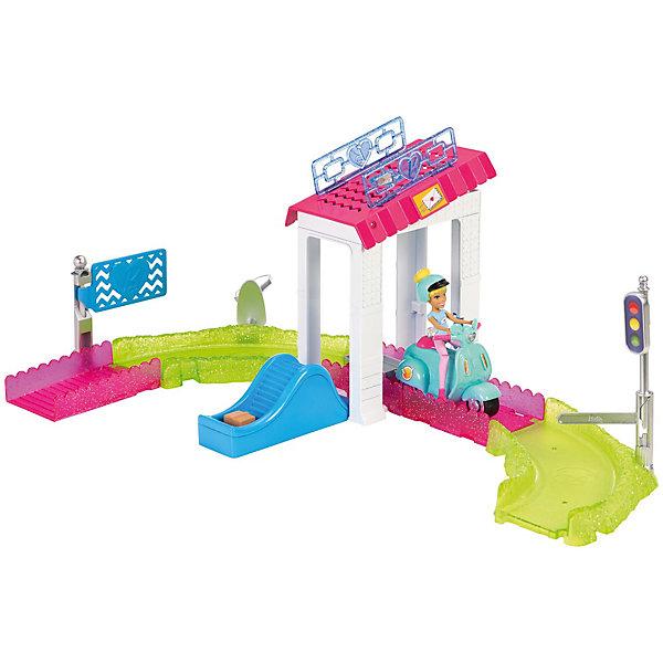 Mattel Набор с куклой Barbie В движении Почта barbie игровой набор с мини куклой video game hero