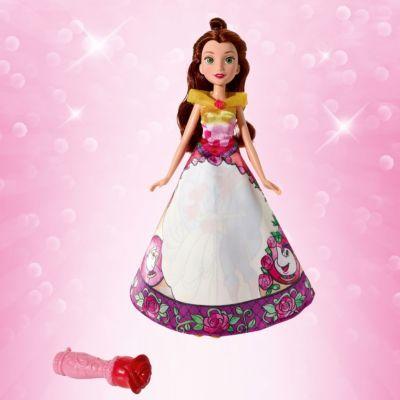 Кукла Hasbro Disney Princess  Принцесса в юбке с проявляющимся принтом , Белль, артикул:7440693 - Принцессы Дисней