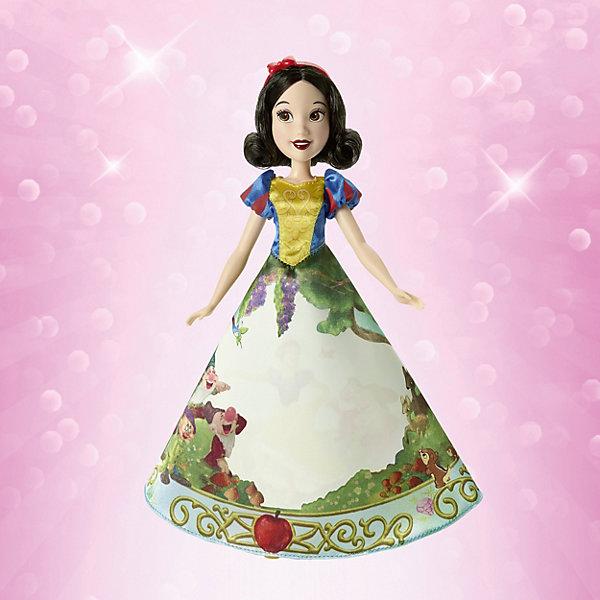 Hasbro Кукла Hasbro Disney Princess Принцесса в юбке с проявляющимся принтом, Белоснежка hasbro кукла рапунцель принцессы дисней