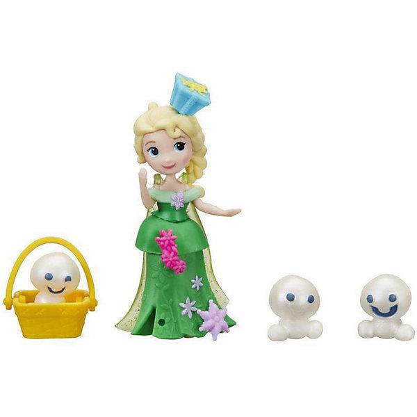 Hasbro Мини-кукла Hasbro Холодное сердце Маленькое королевство Эльза и снеговики disney мини кукла холодное сердце эльза в голубом платье 7 5 см