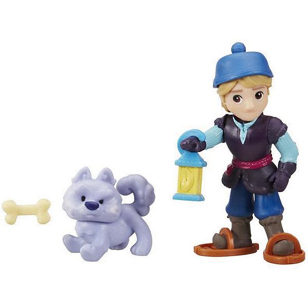 Hasbro Мини-кукла Hasbro Холодное сердце Маленькое королевство Кристоф с волком