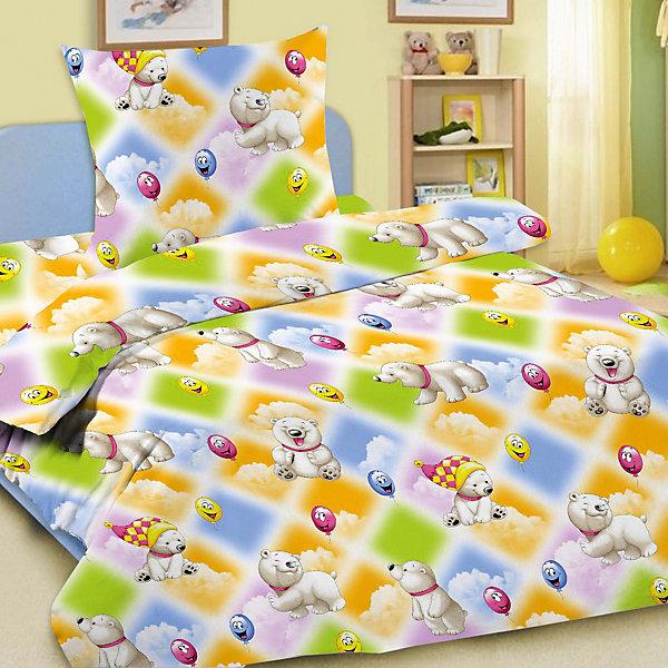 Letto Детское постельное белье 3 предмета Letto, простыня на резинке, BGR-08 детское лего vakind diy 3 3 57042