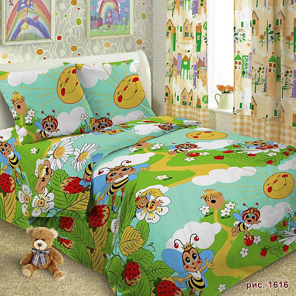 Детское постельное белье 1,5 сп Letto ПчелаДетское постельное бельё<br>Характеристики:<br><br>• возраст: 3+;<br>• тип: детское постельное белье;<br>• материал: 100% хлопок (бязь);<br>• цвет: зеленый, желтый, синий;<br>• пол: для мальчиков, для девочек;<br>• комплект: 3 предмета;<br>• пододельяник: 147х210 см – 1 шт.;<br>• простынь: 150х210 см – 1 шт.;<br>Ширина мм: 300; Глубина мм: 370; Высота мм: 50; Вес г: 1500; Цвет: зеленый; Возраст от месяцев: 36; Возраст до месяцев: 144; Пол: Унисекс; Возраст: Детский; SKU: 7441578;