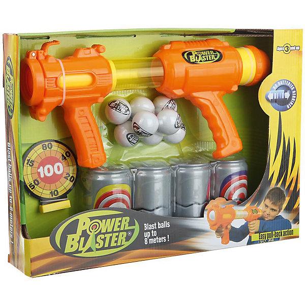 Бластер Toy Target Power BlasterИгрушечные пистолеты и бластеры<br>Характеристики:<br><br>• вес: 83г.;<br>• упаковка: коробка;<br>• размер упаковки: 43х8х32см.;<br>• материал: пластик.;<br>• для детей в возрасте: от 3лет.;<br>• страна производитель: Китай.<br><br>Игрушечное оружие «Power Blaster» (Пауэр Бластер) бренда «Toy Target» (Той Таргет) станет отличным приобретением для маленьких мальчишек. Он создан из высококачественных, экологически чистых материалов, что очень важно для детских товаров.<br><br>Такое оружие не оставит равнодушным ни одного мальчишку. Бластер поражает цели на расстоянии восьми метров и работает с помощью ручной помпы. Отсутствие батареек позволит брать с собой оружие на летний отдых. Комплект состоит из восьми пенопластовых шариков и четырёх мишеней в форме банок.<br><br>Играя дети развивают глазомер, устраивают соревнования и  турниры по стрельбе и просто весело проводят время.  <br>                                   <br>Игрушечное оружие «Power Blaster» (Пауэр Бластер) можно купить в нашем интернет-магазине.<br>Ширина мм: 430; Глубина мм: 80; Высота мм: 320; Вес г: 830; Цвет: оранжевый; Возраст от месяцев: 36; Возраст до месяцев: 2147483647; Пол: Мужской; Возраст: Детский; SKU: 7449540;