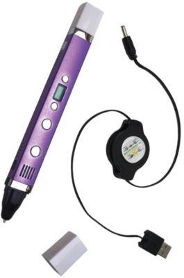 3D ручка Myriwell, третьего поколения с LCD экраном, фиолетовая, артикул:7451131 - 3D ручки
