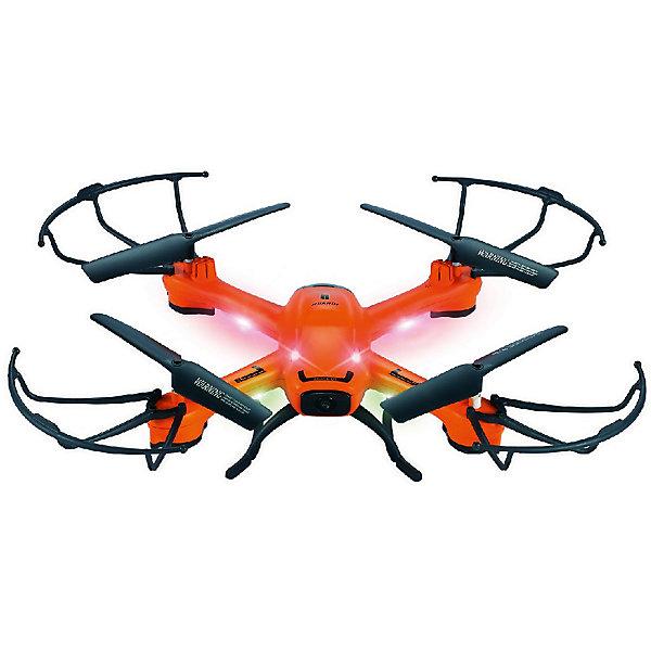 Квадрокоптер радиоуправляемый HuanQi 802Квадрокоптеры<br>Характеристики товара:<br><br>• возраст: от 14 лет;<br>• материал: пластик, металл;<br>• в комплекте: квадрокоптер, USB кабель, комплект лопастей, аккумулятор, передатчик, инструкция;<br>• тип батареек: 3 батарейки АА;<br>• наличие батареек: в комплект не входят;<br>• шестиосевой гироскоп;<br>• барометр;<br>• аккумулятор: Li-Poly 3.7 B;<br>• время полета: 7-8 минут;<br>• время зарядки: 150 минут;<br>• дальность: 70 метров;<br>• размер квадрокоптера: 30,5х30,5х8,2 см;<br>• размер упаковки: 47х34х10 см;<br>• вес упаковки: 760 гр.;<br>• страна производитель: Китай.Квадрокоптер радиоуправляемый HuanQi 802 умеет летать во всех направлениях, а также делать эффектные флипы и перевороты на 360 градусов. Гироскоп обеспечивает стабильность полета. Барометр -  удержание высоты во время полета. Функция Headless Mode позволяет даже новичкам не задумываться об ориентации квадрокоптера в пространстве. Оснащен функций возврата домой, при которой по команде с пульта квадрокоптер возвращается обратно.Квадрокоптер радиоуправляемый HuanQi 802 можно приобрести в нашем интернет-магазине.<br>Ширина мм: 310; Глубина мм: 90; Высота мм: 310; Вес г: 760; Возраст от месяцев: 168; Возраст до месяцев: 2147483647; Пол: Унисекс; Возраст: Детский; SKU: 7451139;